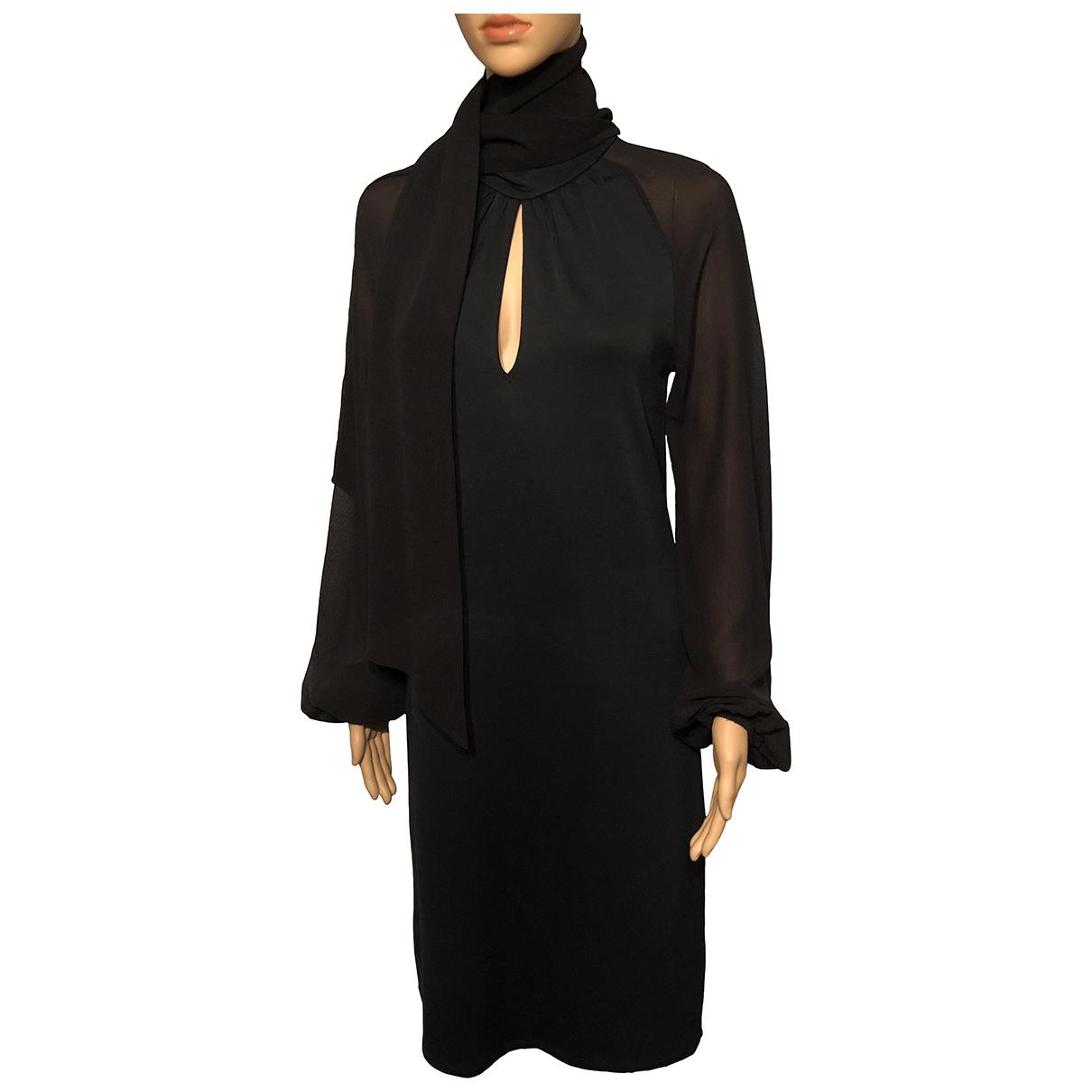 Max Mara Studio N Black dress for Women 42 IT