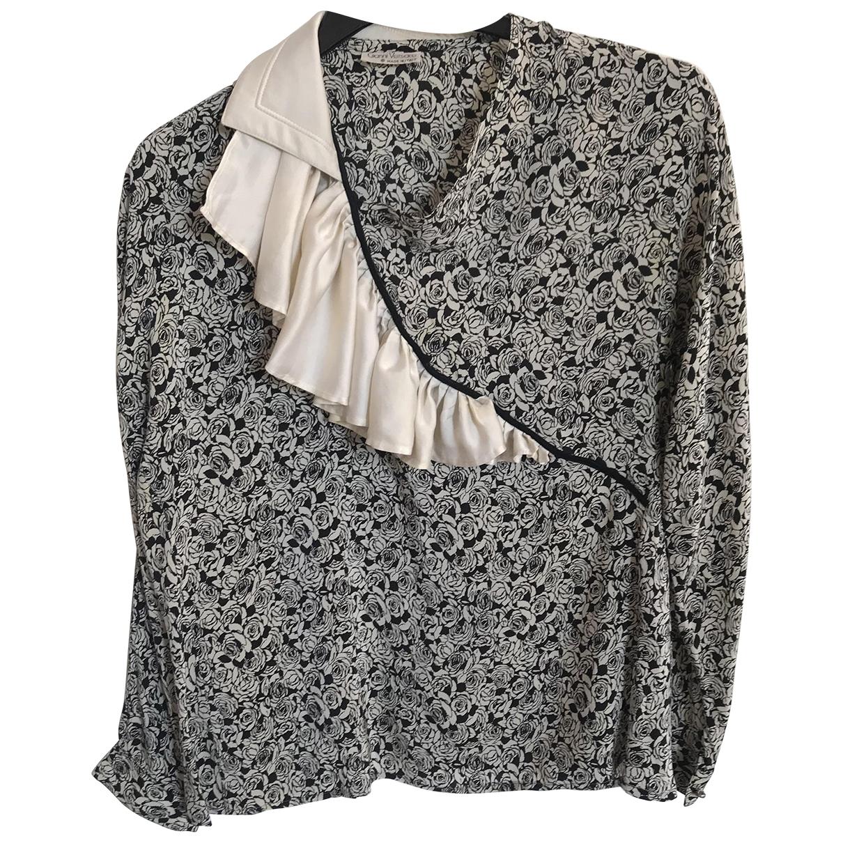 Gianni Versace - Pull   pour femme en soie - gris