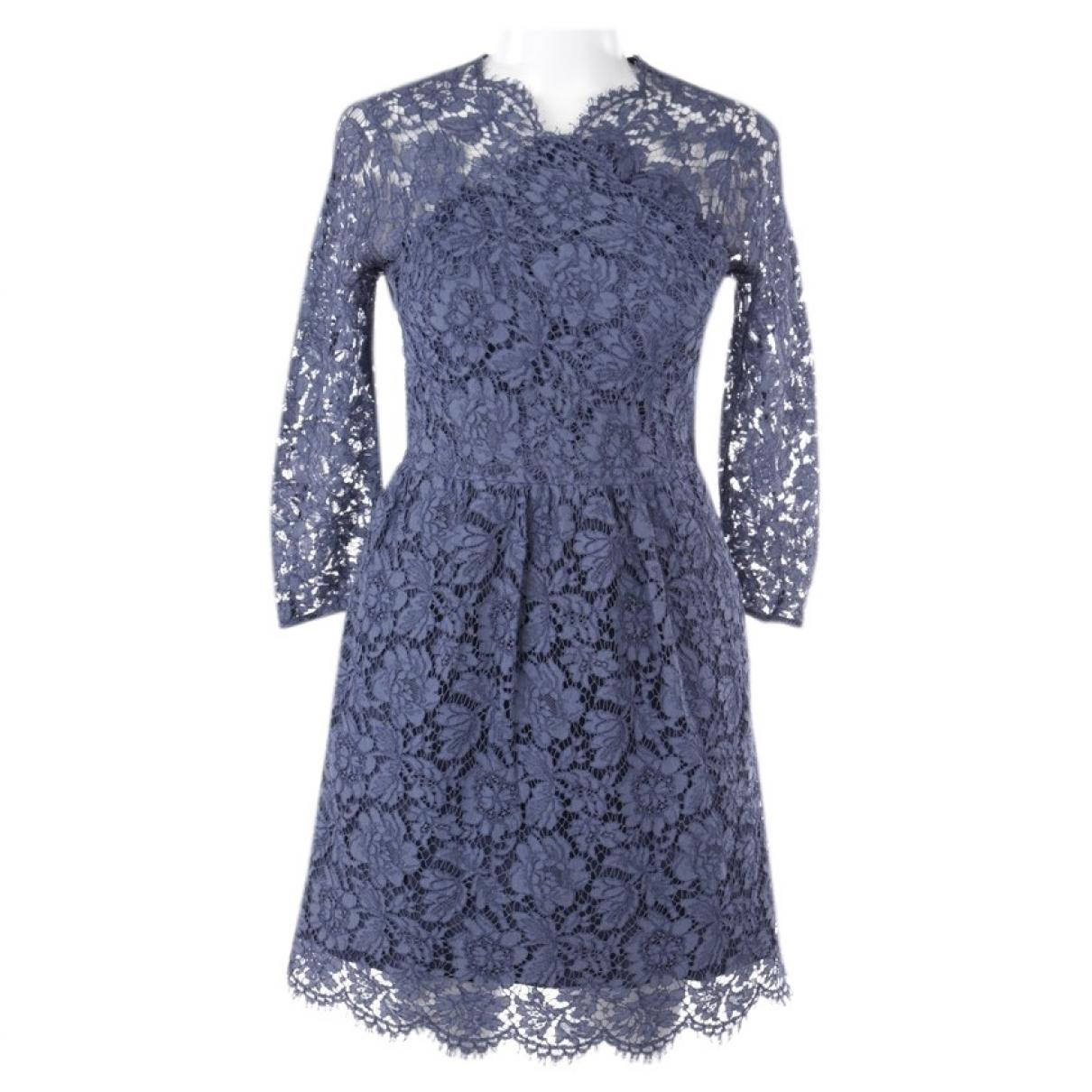 Carven \N Blue Cotton dress for Women 32 FR
