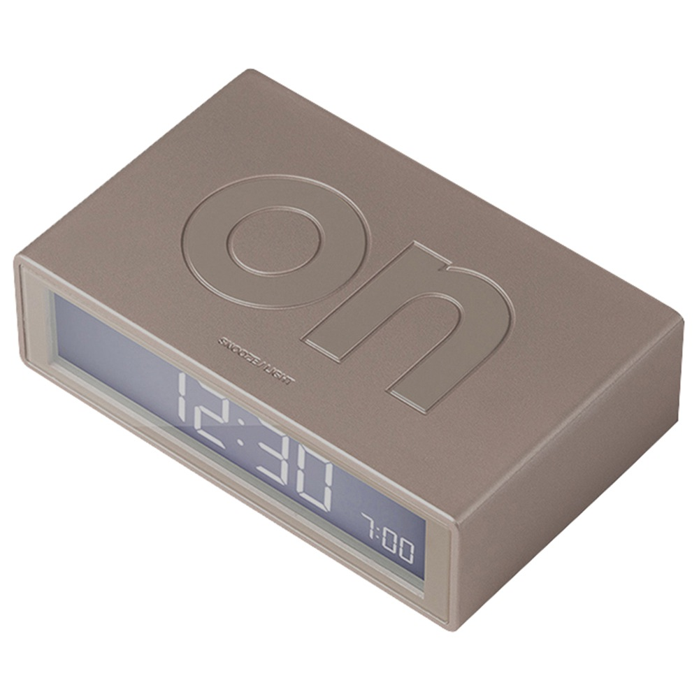 LEXON FLIP LR130 Digital Alarm Clock Radiationless Mute With Snooze Mode From Xiaomi Youpin - Pale Gold