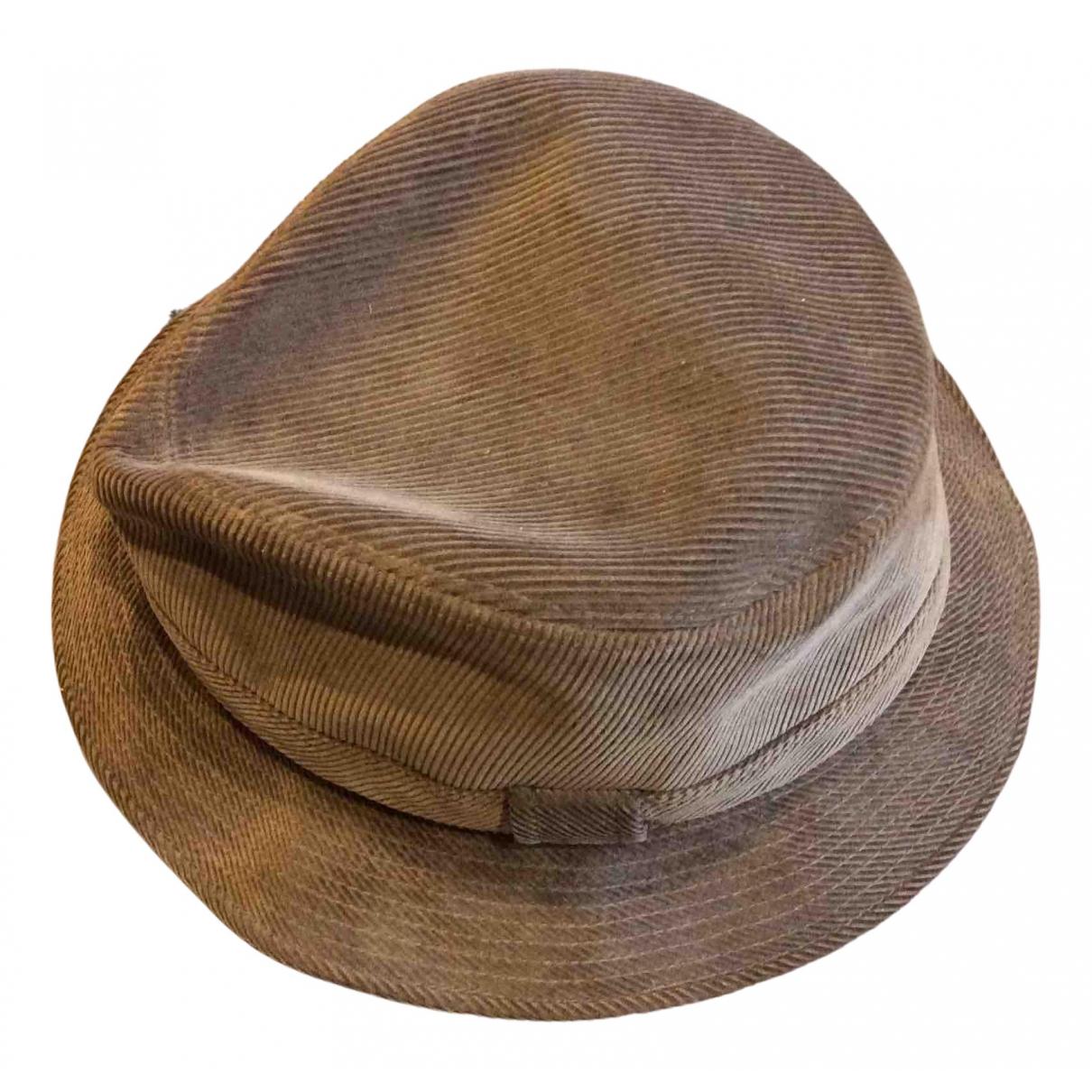 Hermes - Chapeau   pour femme en autre - marron