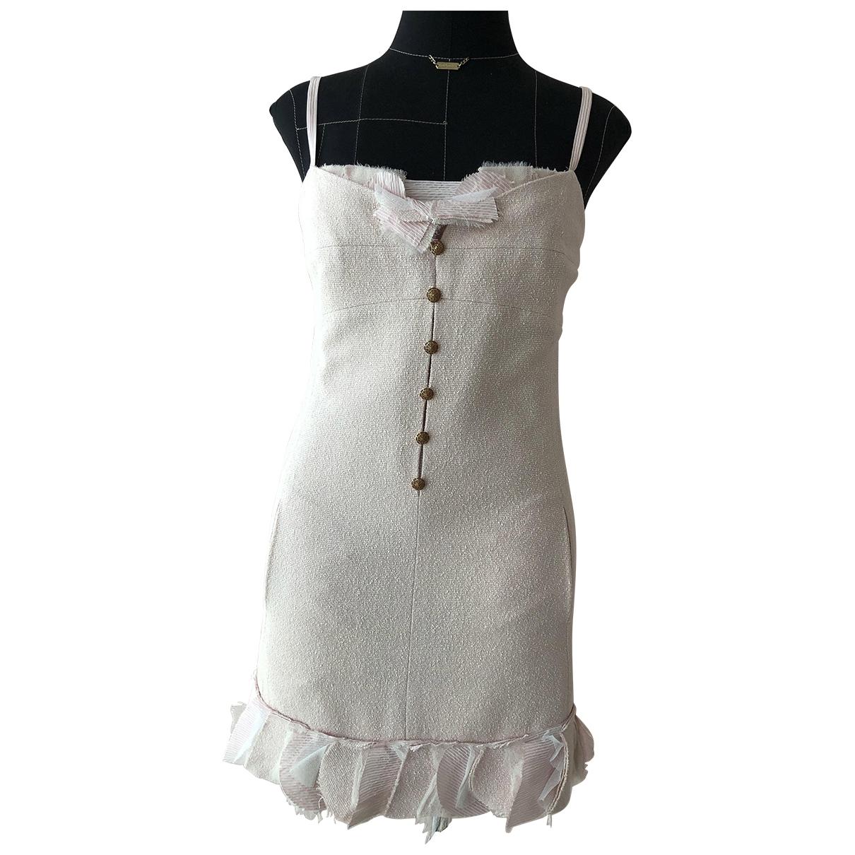 Chanel \N Kleid in  Rosa Seide