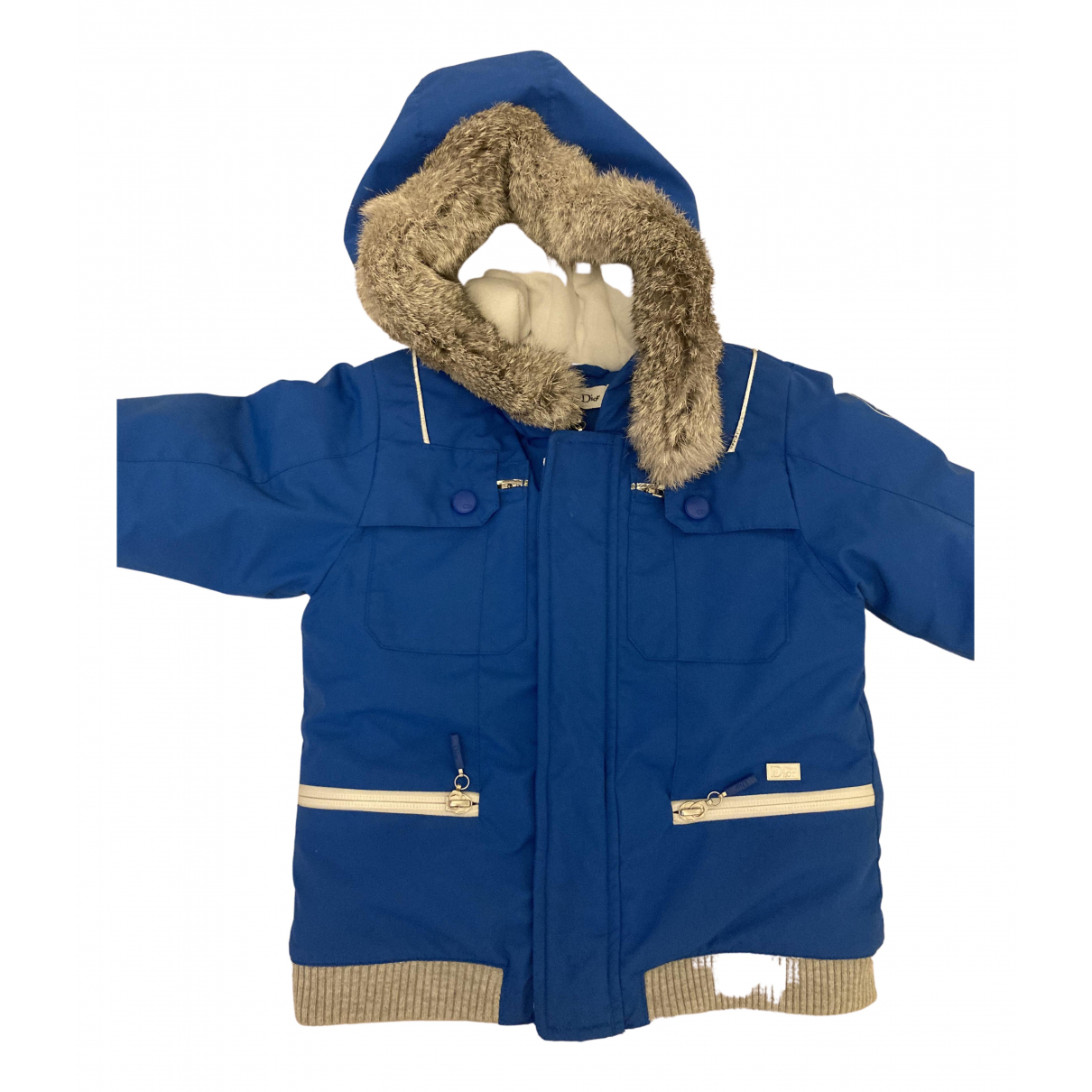 Dior - Blousons.Manteaux   pour enfant - bleu
