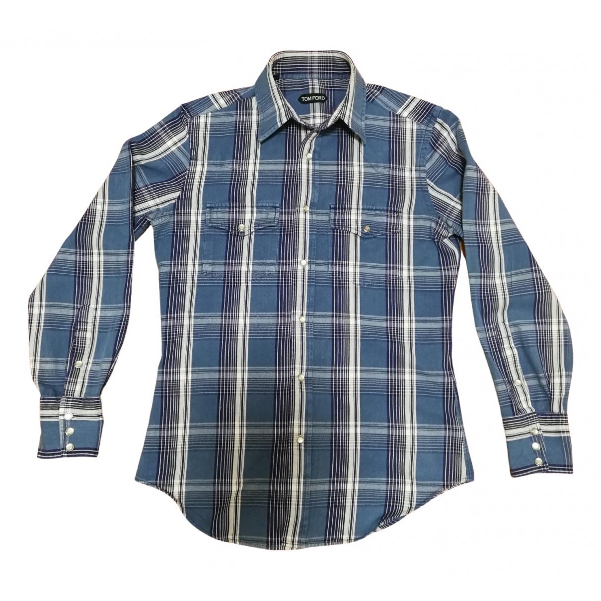 Tom Ford \N Hemden in  Blau Denim - Jeans