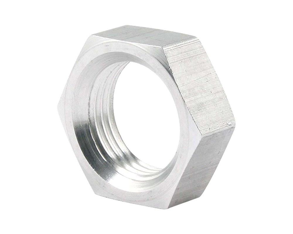 Allstar Performance ALL18297-50 5/8-18 LH Aluminum Jam Nuts Thin O.D. 50pk ALL18297-50