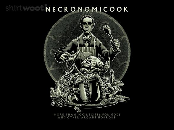 Necronomicook T Shirt