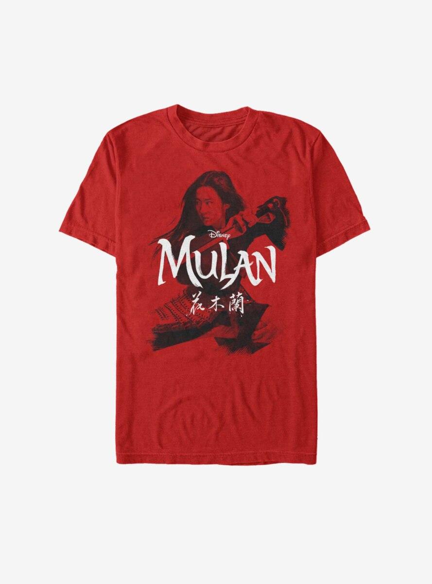 Disney Mulan Live Action Warrior Stance T-Shirt