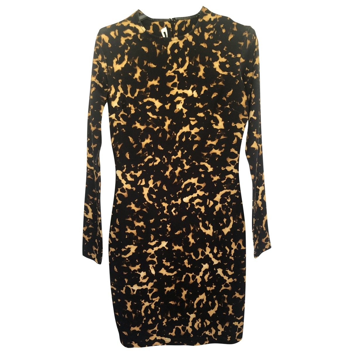 Mcq \N Black Cotton dress for Women M International