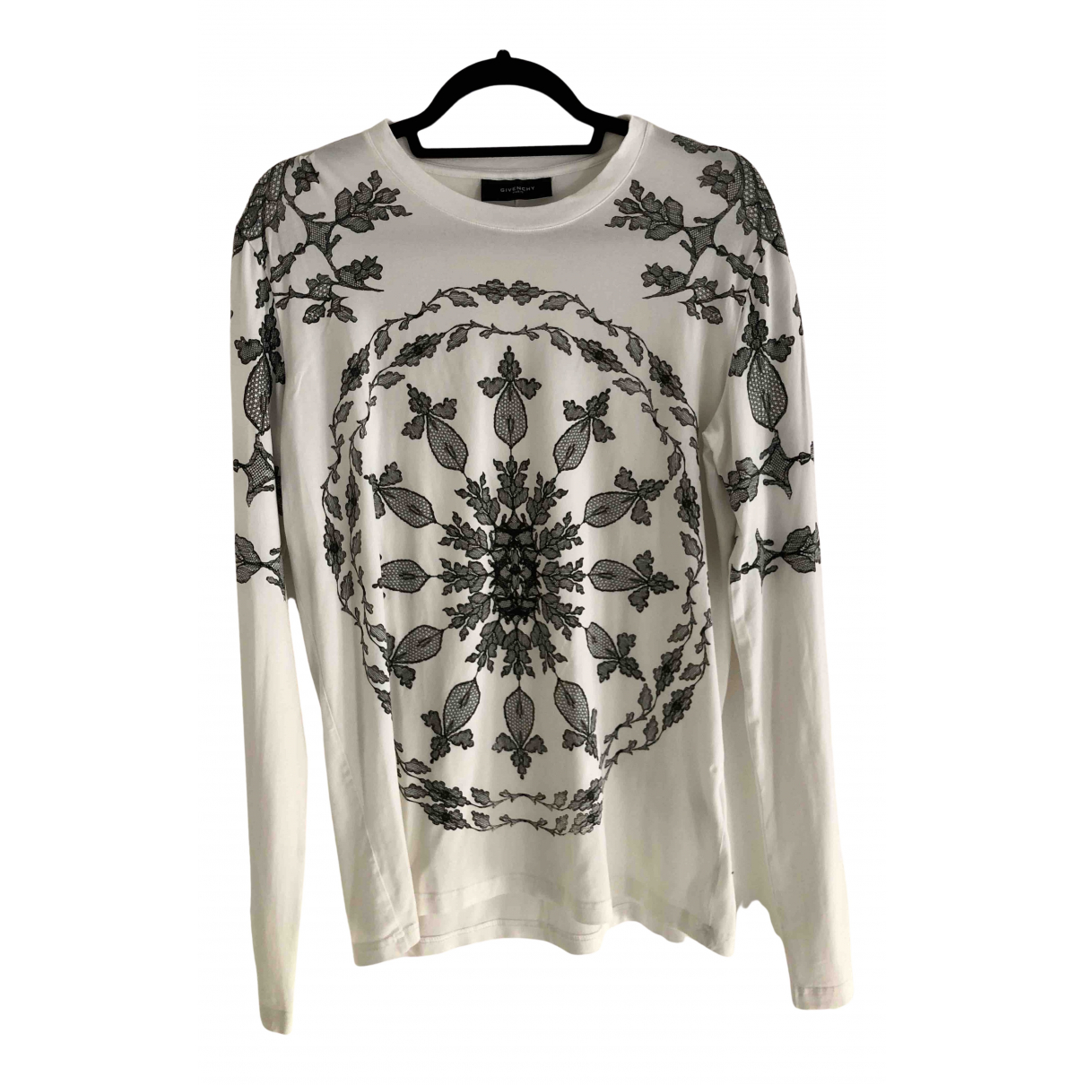 Givenchy N White Cotton T-shirts for Men S International