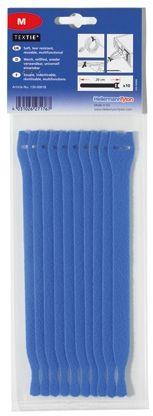HellermannTyton Blue Hook & Loop Tape, 1m x 13 mm