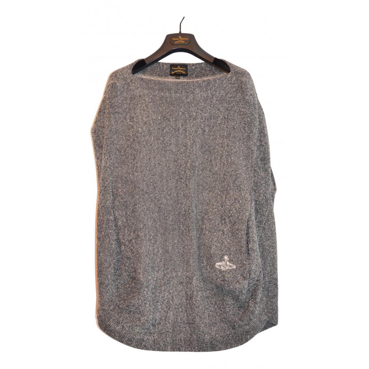 Vivienne Westwood Anglomania - Pull   pour femme en coton - gris