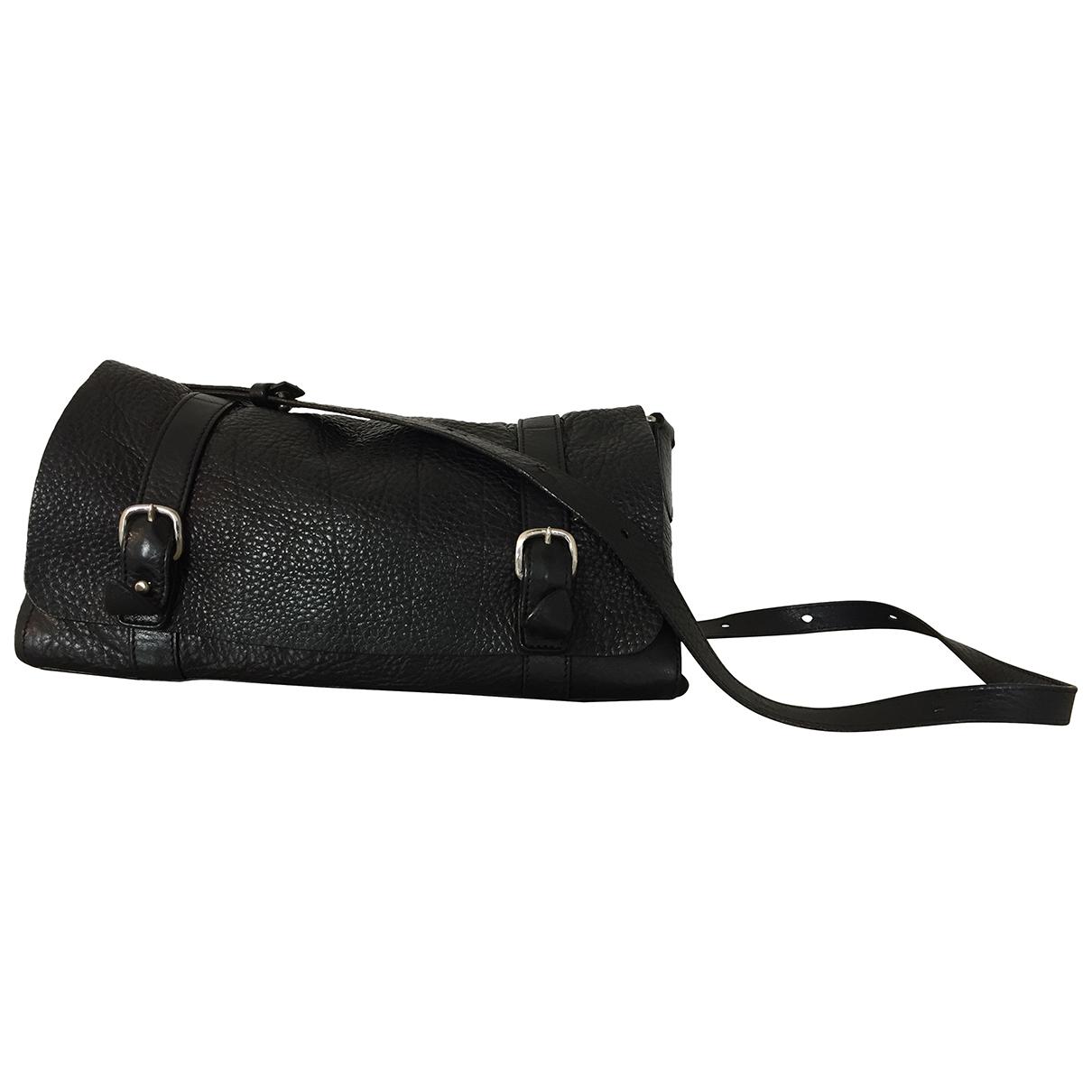 Orciani \N Handtasche in  Schwarz Leder