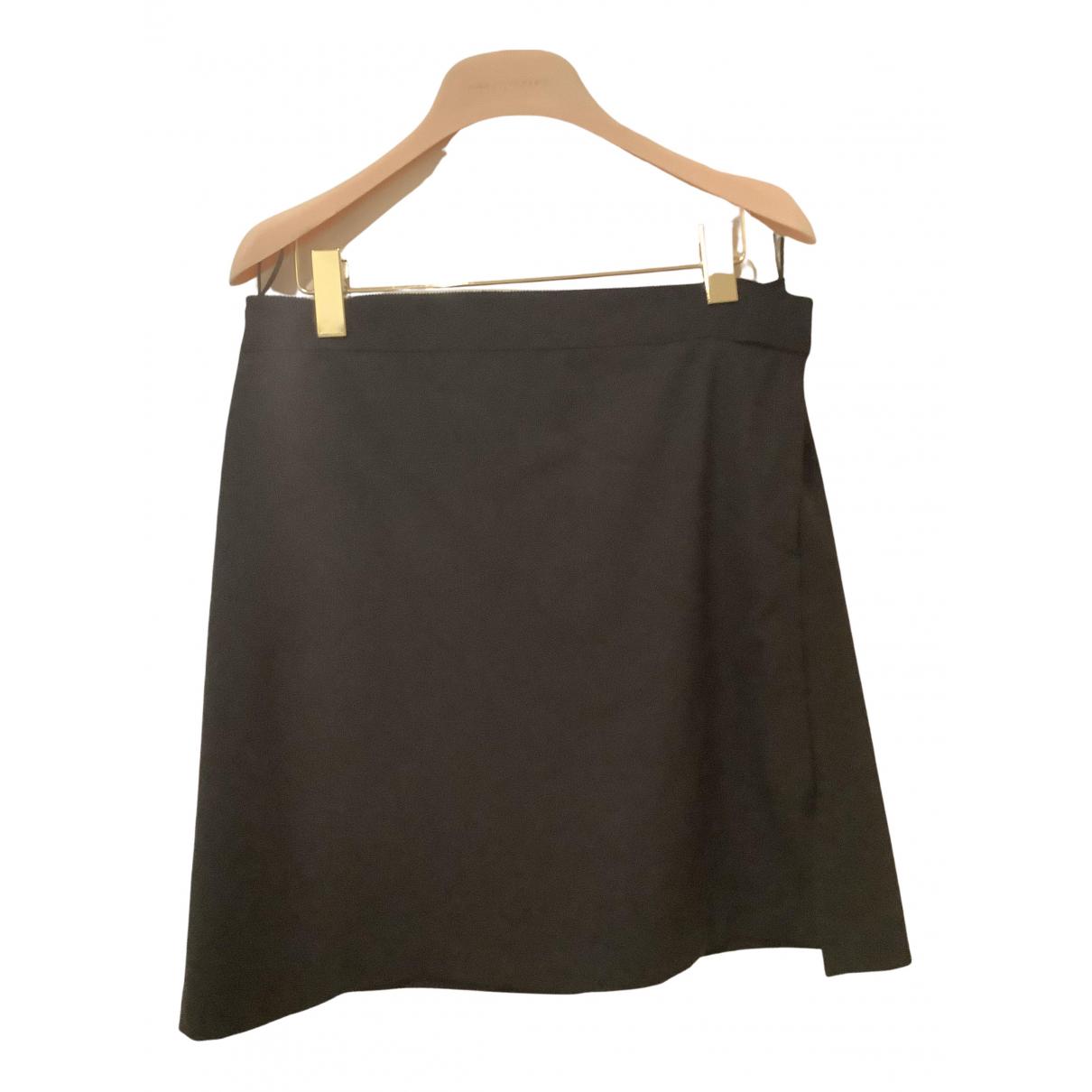 Jil Sander - Jupe   pour femme en laine - noir