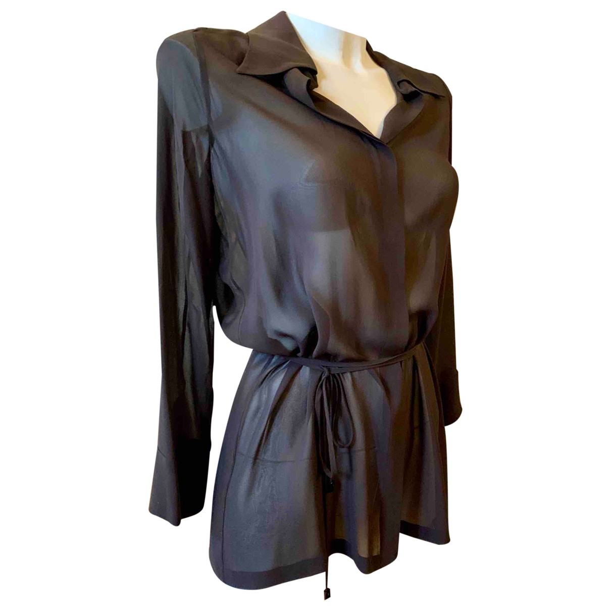 Gucci \N Brown  top for Women 44 IT