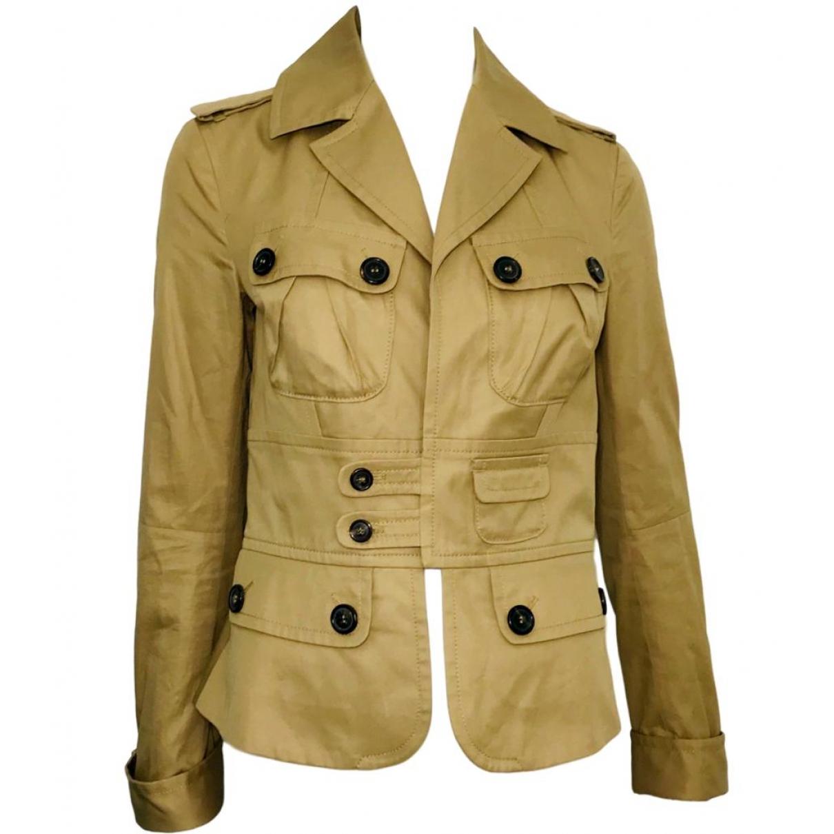 Dsquared2 - Veste   pour femme en coton - beige