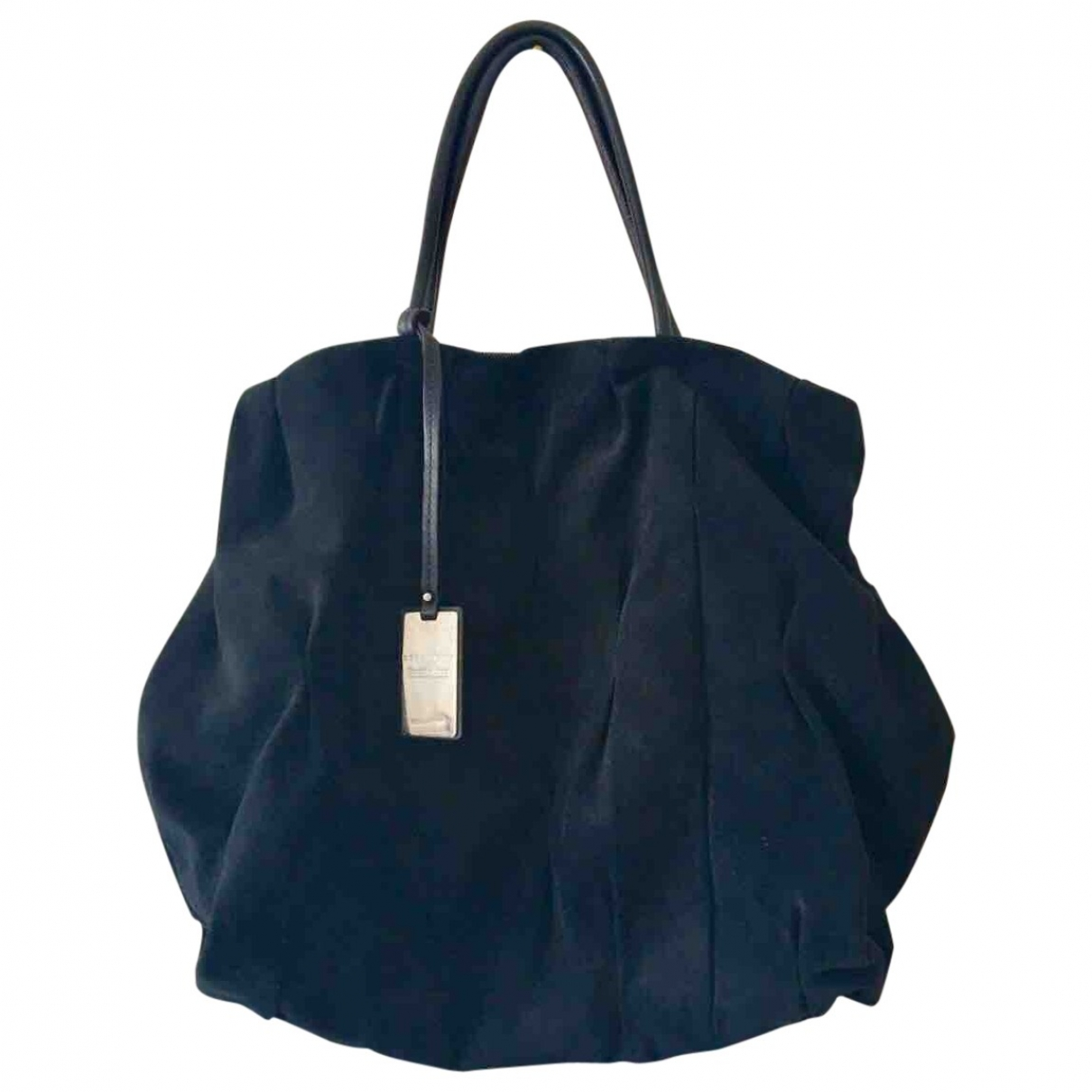 Coccinelle \N Navy Suede handbag for Women \N