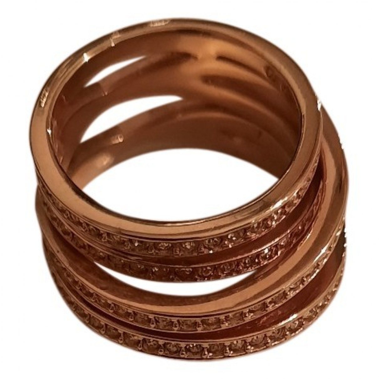 Swarovski \N Ring in  Gold Metall