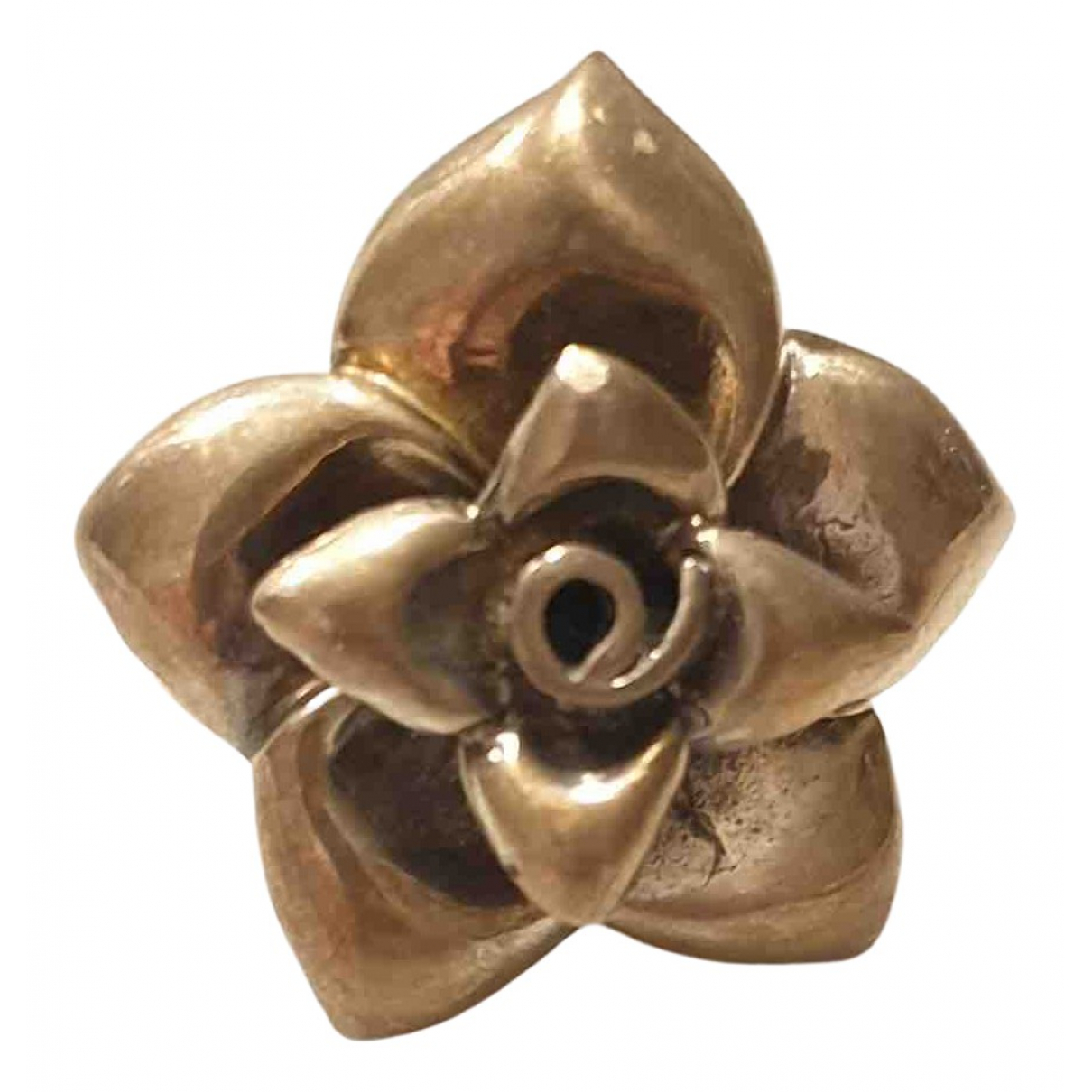 - Bague Motifs Floraux pour femme en acier - argente