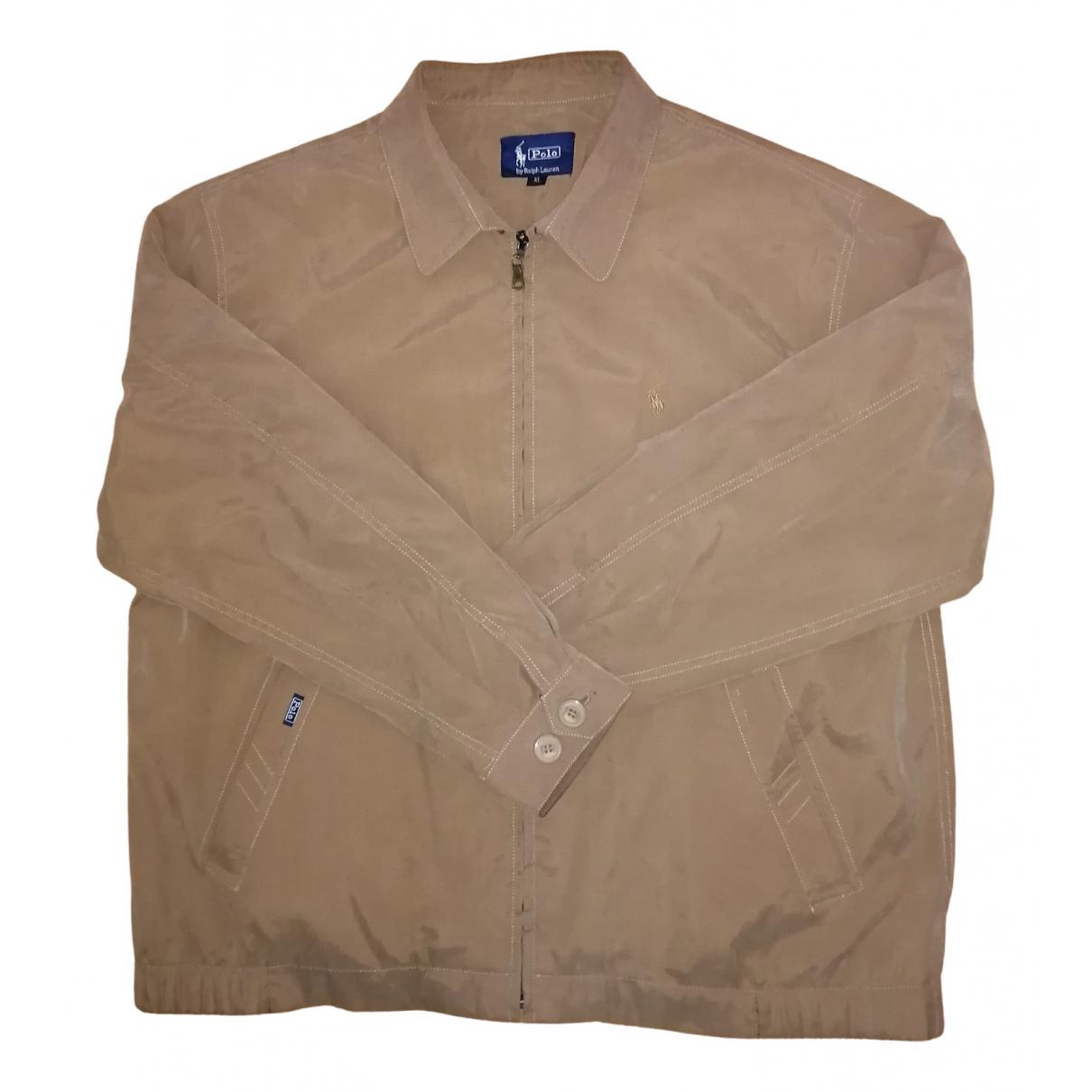 Polo Ralph Lauren - Vestes.Blousons   pour homme en coton - marron