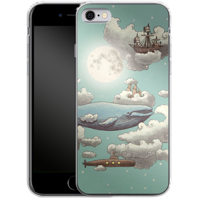Apple iPhone 6 Silikon Handyhuelle - Ocean Meets Sky von Terry Fan