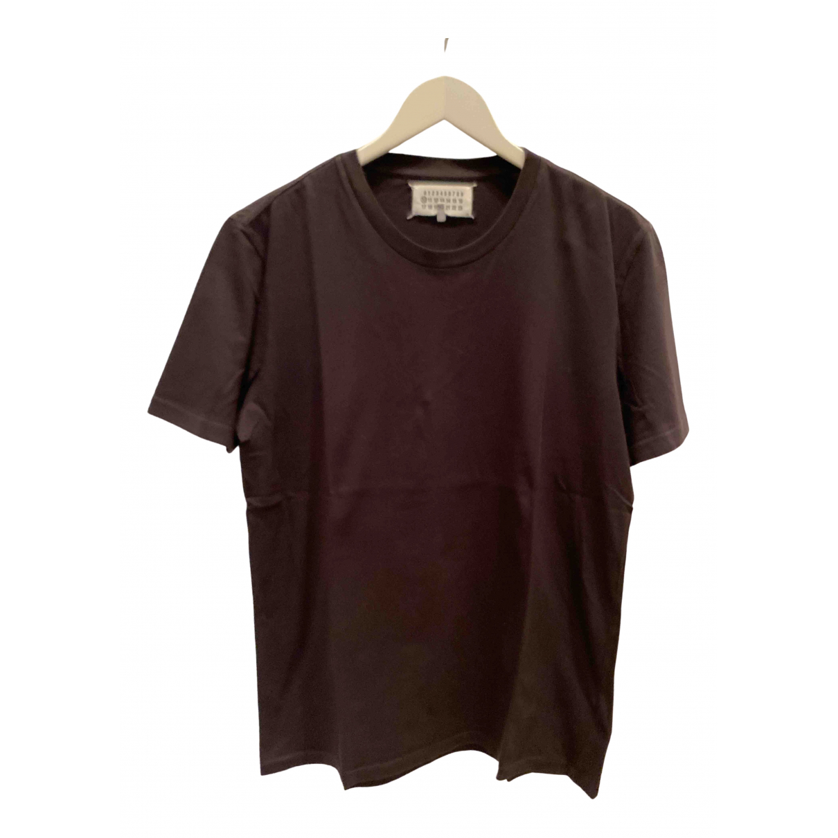 Maison Martin Margiela \N Black Cotton T-shirts for Men M International
