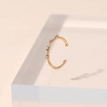 Rhinestone Inlaid Nose Ring