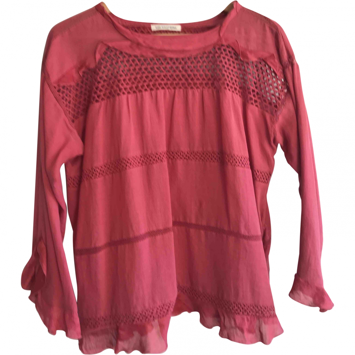 Isabel Marant Etoile \N Pink Cotton  top for Women 34 FR