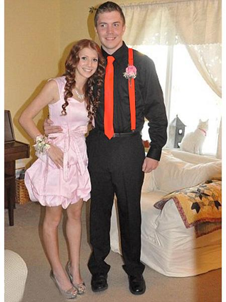 High School Homecoming Outfits For Guys Casual Package Orange-Red