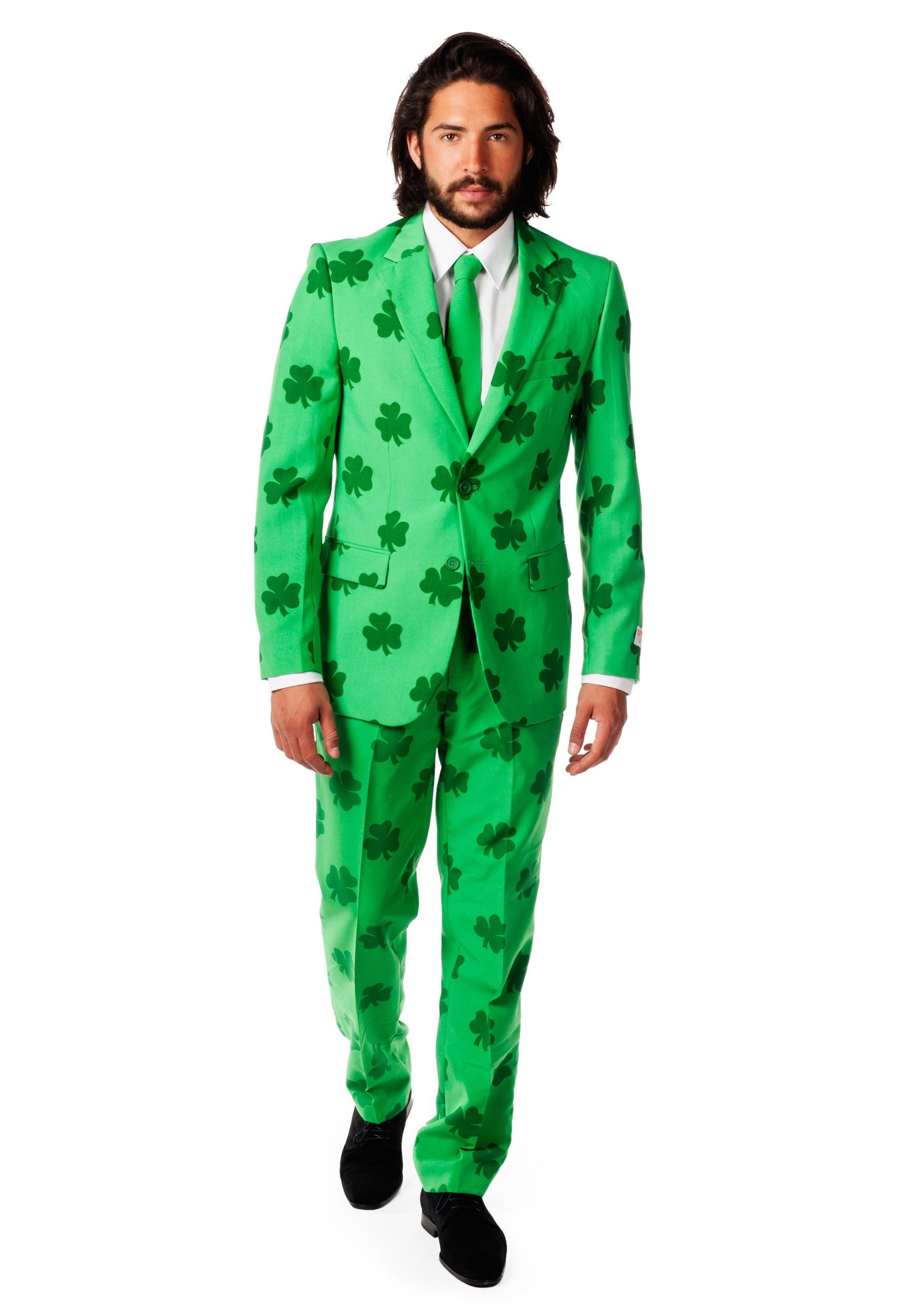 Mens OppoSuits Green St Patricks Day Costume Suit