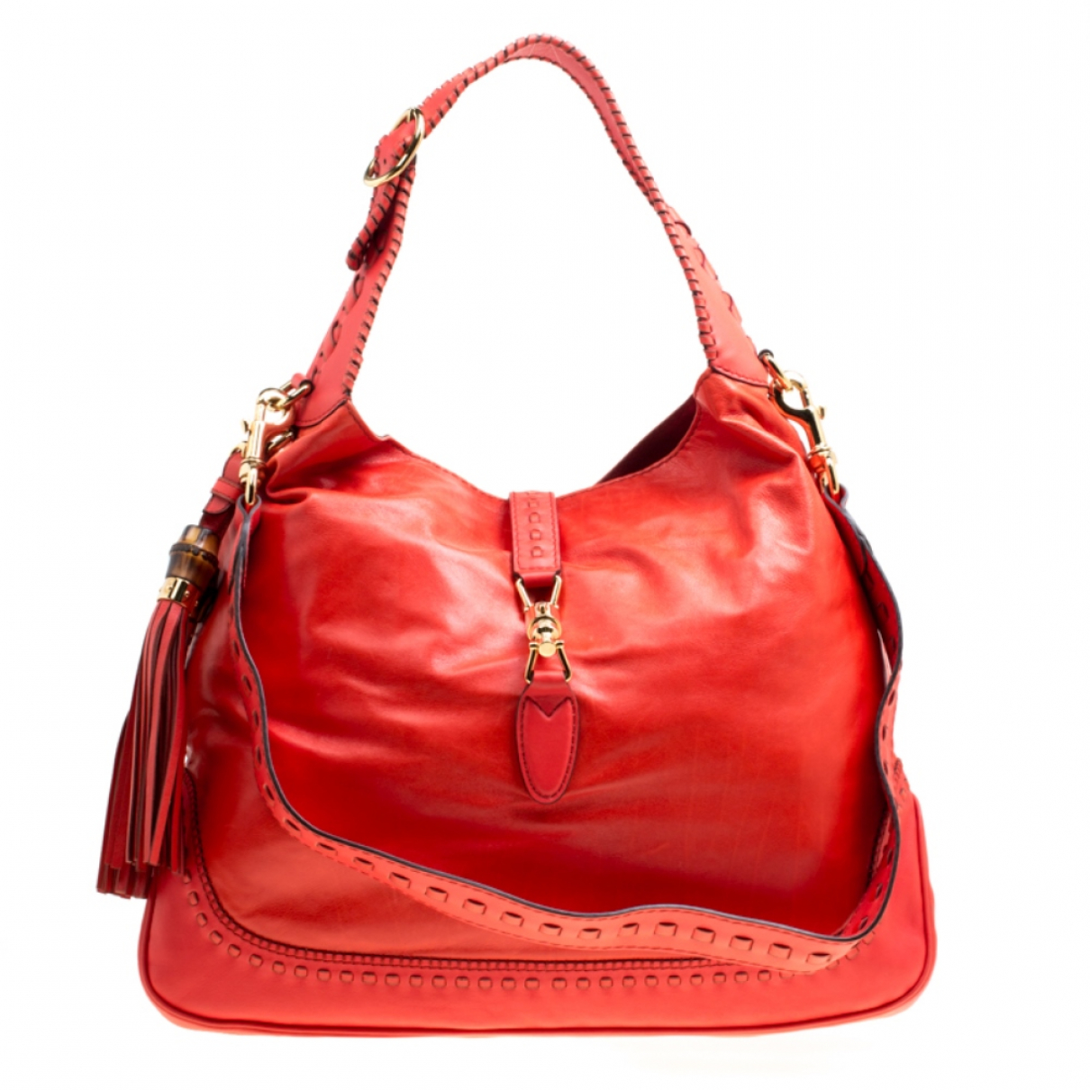 Gucci \N Red Leather handbag for Women \N