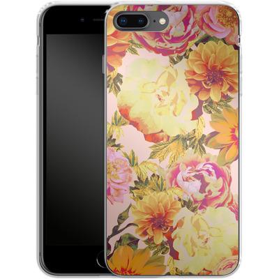 Apple iPhone 8 Plus Silikon Handyhuelle - Tropicana Bouquet von Zala Farah