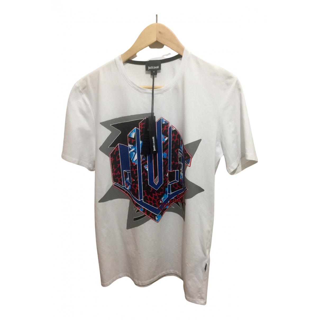 Just Cavalli - Tee shirts   pour homme en coton - multicolore