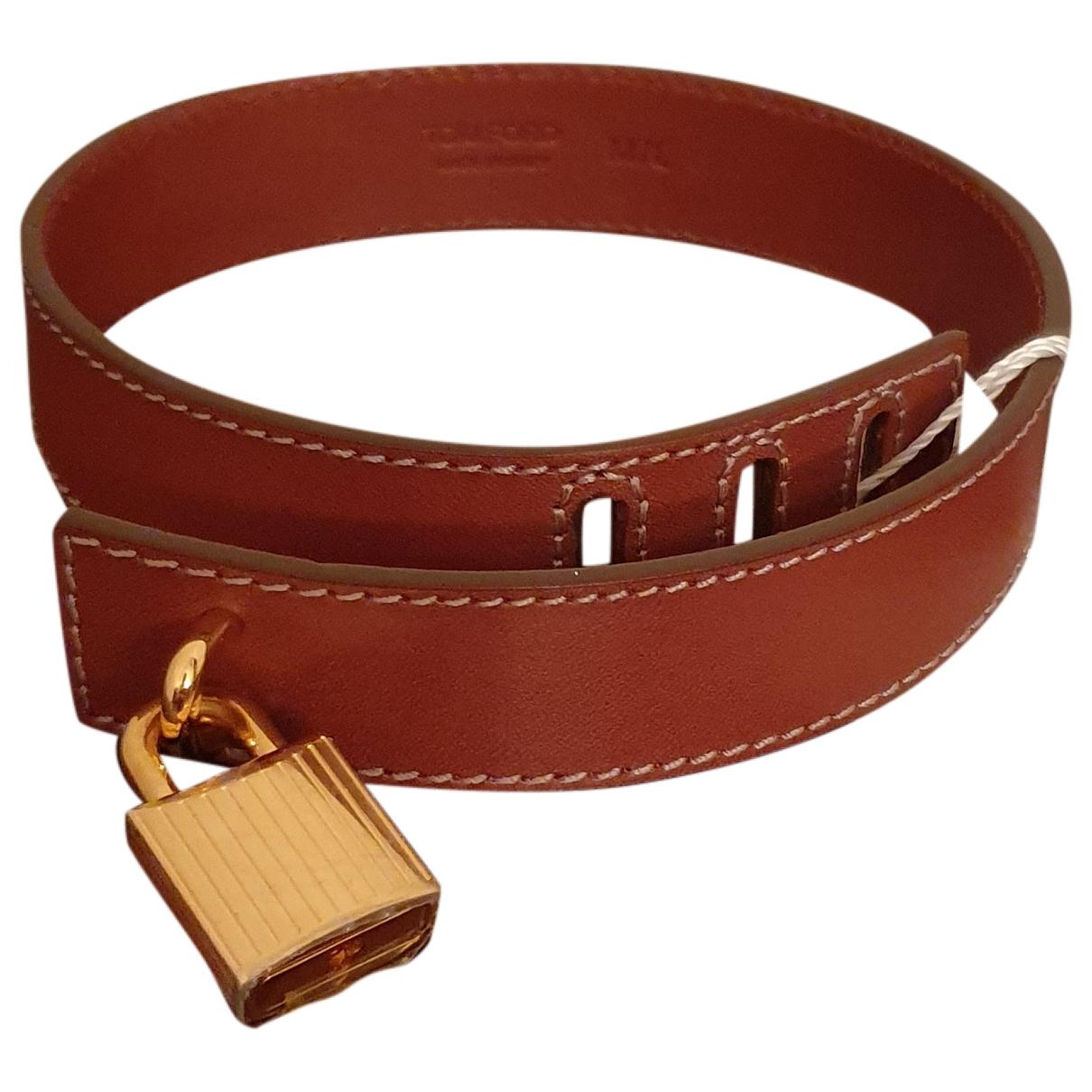 Tom Ford - Bracelet   pour femme en cuir - marron