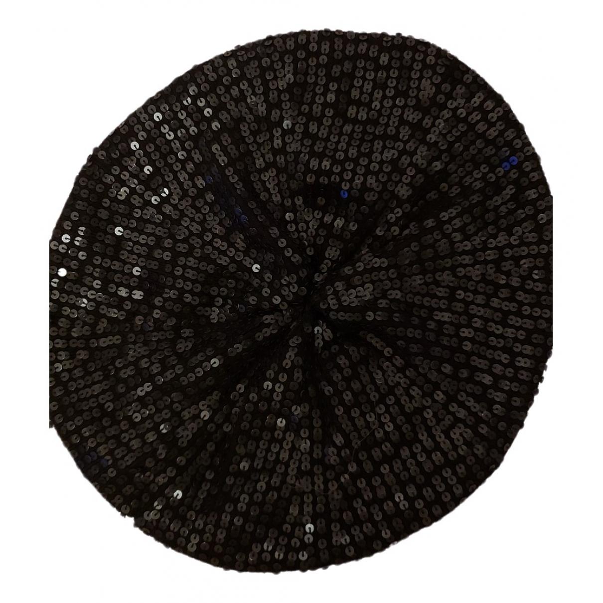 Jaeger London - Chapeau   pour femme en laine - noir