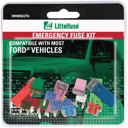 Littelfuse 00940562ZPA - 00940562 Zpa   Oem Emergency Fuse Kits Series
