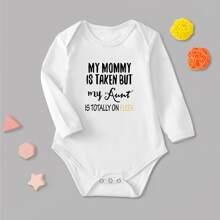Body de bebe Boton Frase