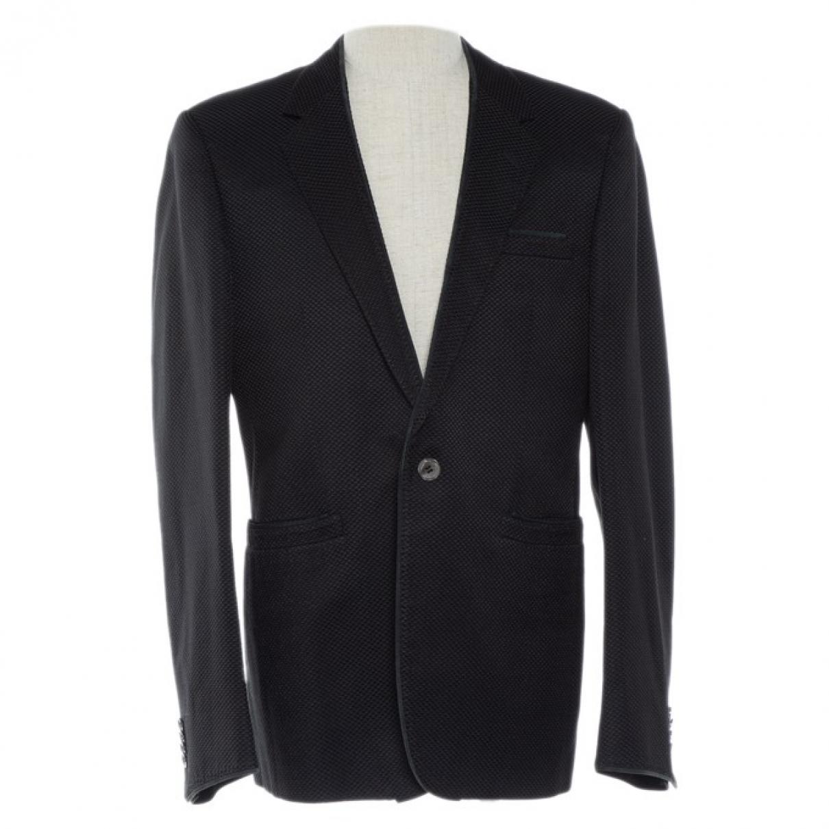 Versace - Vestes.Blousons   pour homme en coton - noir