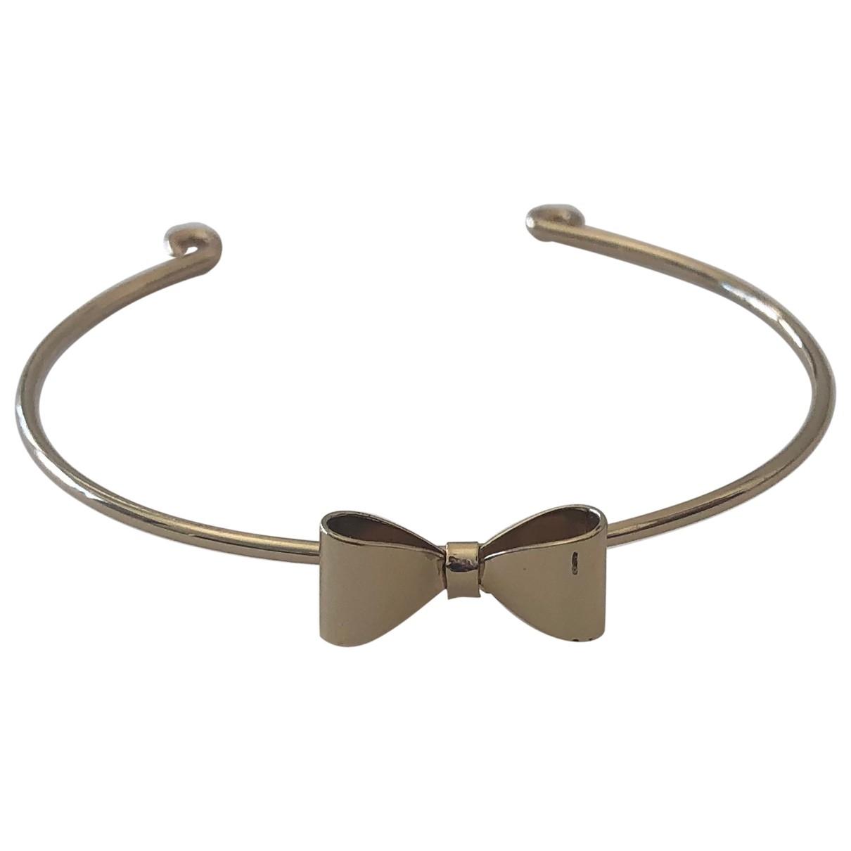 Asos - Bracelet   pour femme en metal - dore
