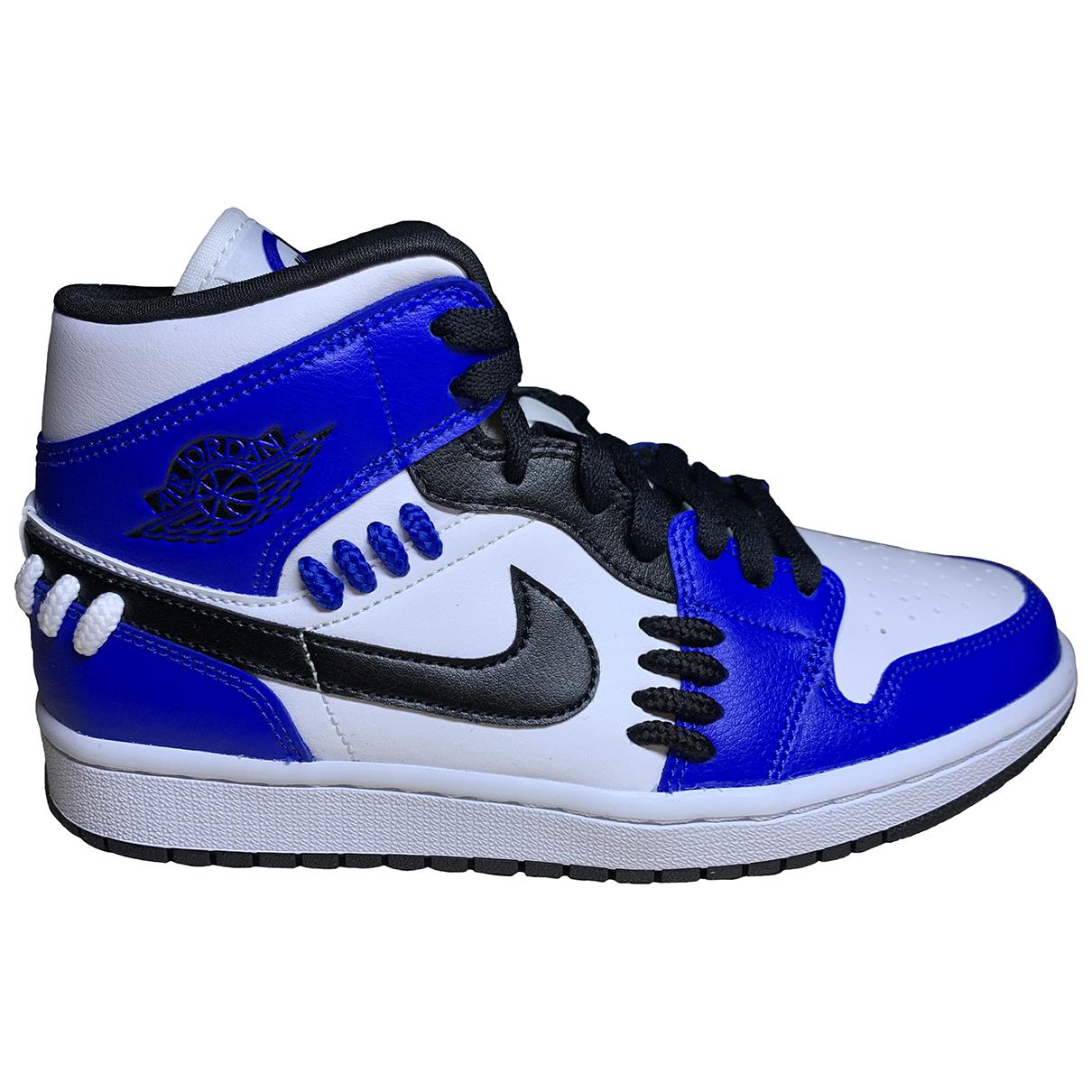 Jordan - Baskets Air Jordan 1  pour femme - bleu
