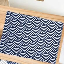 Tischset mit geometrischem Muster
