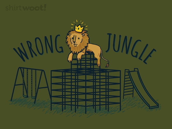 King Of The Jungle Gym T Shirt