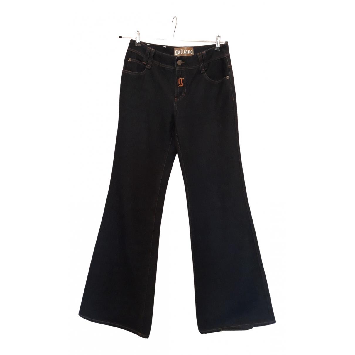 Galliano N Blue Denim - Jeans Trousers for Women 38 FR