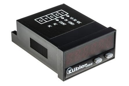 Kubler CODIX 522, 6 Digit, LED, Counter, 60kHz, 10 → 30 V dc
