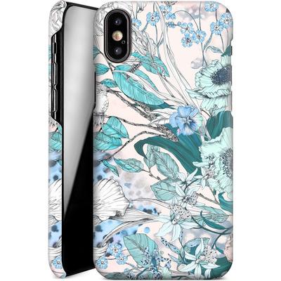 Apple iPhone XS Smartphone Huelle - Make Me Blush von Stephanie Breeze