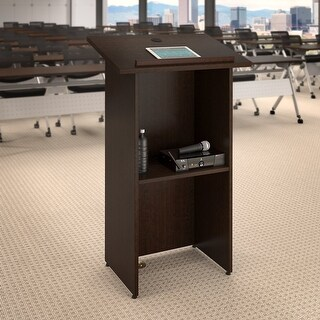 24W x 48H Lectern by Bush Business Furniture (Brown)