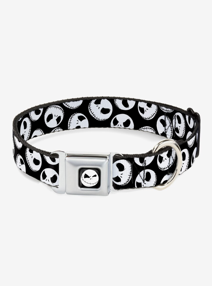 The Nightmare Before Christmas Jack Scattered Expressions Dog Collar Seatbelt Buckle
