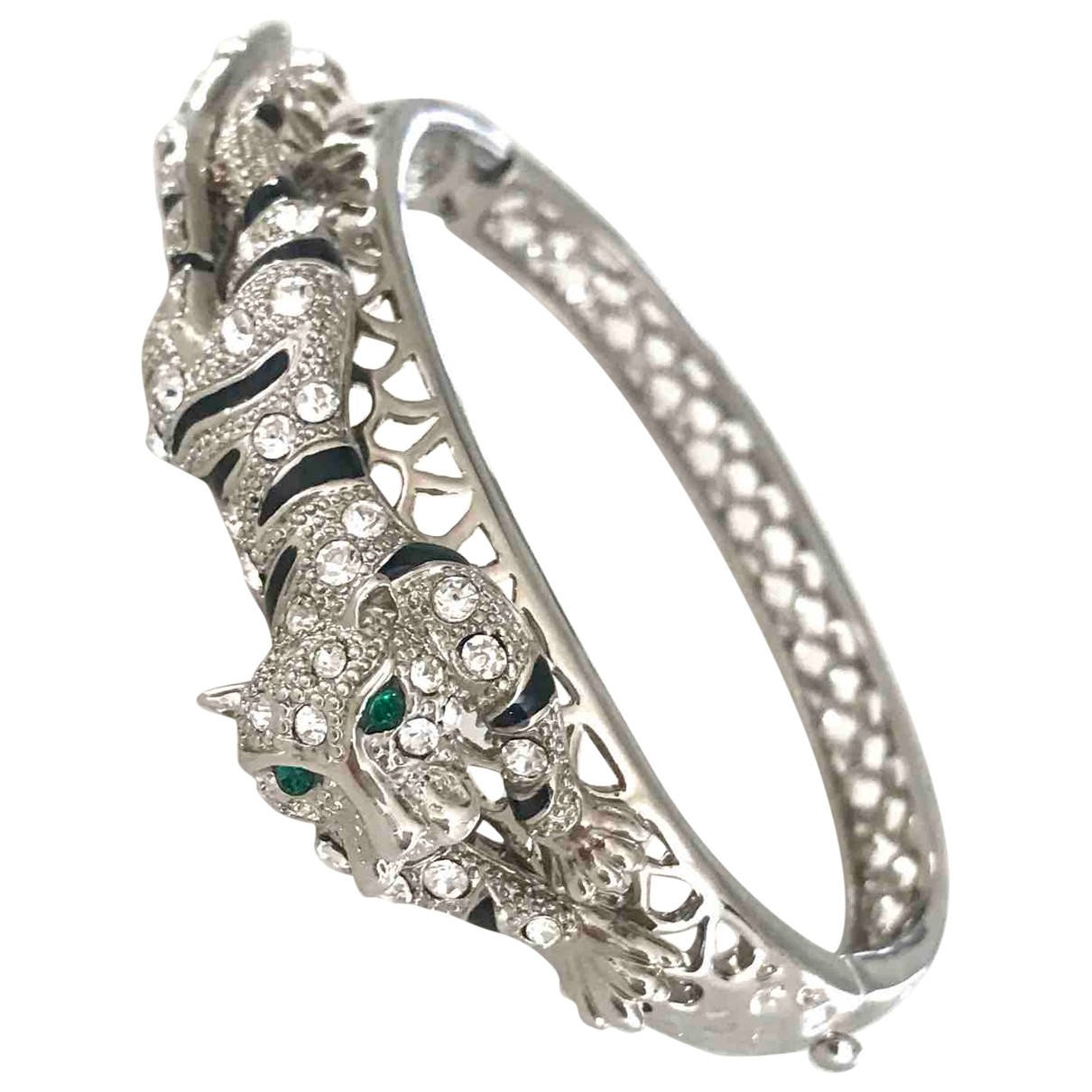 Non Signé / Unsigned Motifs Animaliers Silver Metal bracelet for Women \N