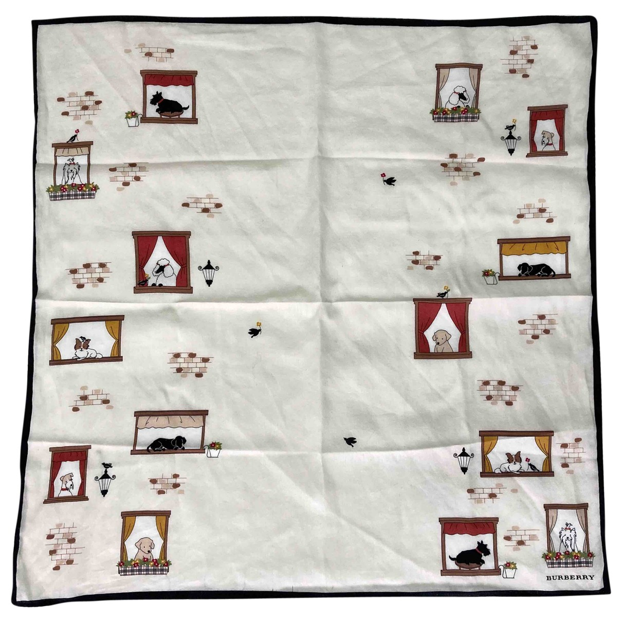 Burberry \N White Cotton scarf for Kids \N