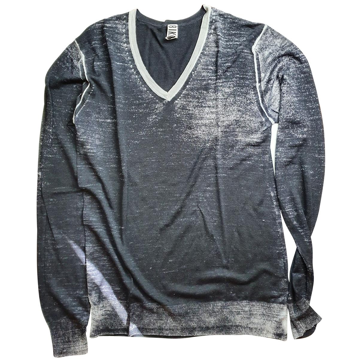 Dirk Bikkembergs \N Pullover.Westen.Sweatshirts  in  Anthrazit Baumwolle