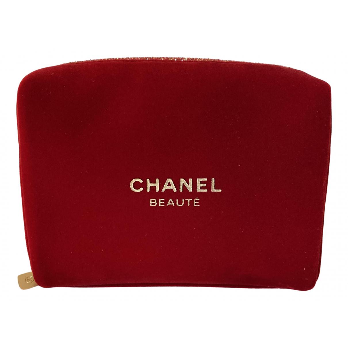 Chanel \N Burgundy Velvet Travel bag for Women \N